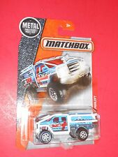 MATCHBOX 2016 FORD SUPERLIFT F-350 MBX HEROIC RESCUE 73 OF 125 SHIPS FREE