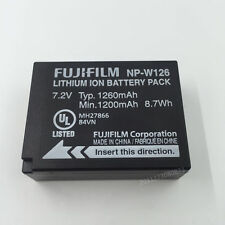 Genuine Original Fujifilm NP-W126 Li-ion Battery for FinePix HS30EXR HS33EXR X-P