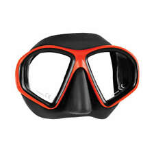 Mares Sealhouette Scuba Diving Snorkeling Mask Red Black 411058