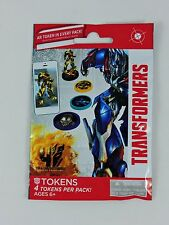 AR Tokens 4 per pack TRANSFORMERS Age of Extinction Augmented Reality 2014 AOE