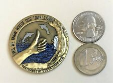 ☆ 2007 Arthur & Trillian Geocoin Hitchhiker's Guide to the Galaxy 42 Unactivated