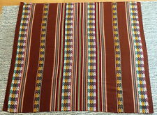 Peruvian Tablecloth ,Multi-color Brown Size 42x46 inches or 107x117 cm