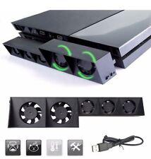 Ventilateur de refroidissement PS4 FAT noir Ventilateur externe Super Turbo USB
