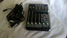 Behringer Xenyx Q802Usb 8-input 2-bus Mixer, Tested and working properly
