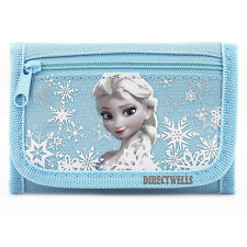 Disney Frozen Elsa Blue Wallet