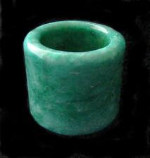 JADEITE Apple GREEN Thumb RING JADE