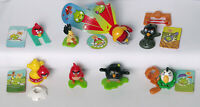 Angry Birds Kinder Surprise 2016 complete set FS350-FF608 + 8 BPZ