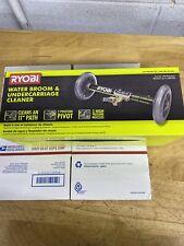 NEW RYOBI Pressure Washer Water Broom Wash Deck Patio Driveway Car