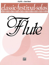 CLASSIC FESTIVAL SOLOS FOR FLUTE--MUSIC BOOK-VOLUME 1-BRAND NEW ON SALE SONGBOOK
