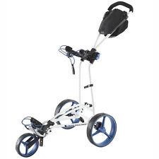 Big Max Autofold FF - 3-Rad-Golftrolley ultrakompakt Farbe White Cobalt Neuheit!