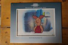 "Walt Disney TV Animation Art CEL :Original Production Winnie the Pooh"" PIGGLET"