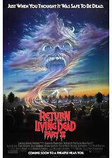 Return of the Living Dead Part 2 - James Karen - A4 Laminated Mini Movie Poster
