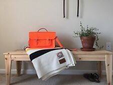 Neon Orange Cambridge Satchel Company Bag