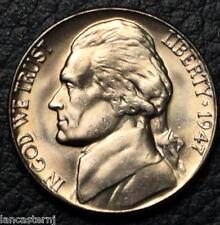 1947-D BU Jefferson Nickel NO SHIPPING!!! Satisfaction Guaranteed