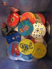 100 Used  CD - DVD Bundle Job Lot Arts Crafts Reflectors Scarecrow Allotment