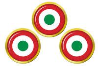 Italien Air Force Cocarde (Aeronautica Militare) Marqueurs de Balles de Golf