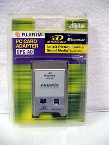 Fujifilm PC Card Adapter DPC-AD | New but open package | XD or Smart Media | $49