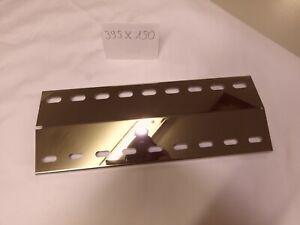 🔥🔥1 V4A Edelstahl Flammenverteiler 🔥Gasgrill⭐️395 x 150 Landmann Triton 2.0