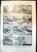 Old Print Baddest Best Boy Buster Brown Curious Font Curious Pulpit 1905 20th