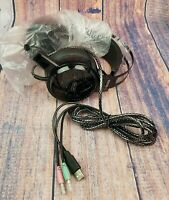 Gaming Headset Hizek Over Ear Stereo Wired Headphones with Microphone