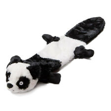 "Animate Panda Stuffed Head Water Bottle 21"" Squeaker Dog Toy 