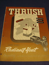 H. A. THRUSH & Company 1950's Catalog Asbestos History HVAC
