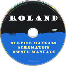 Roland Printers Copier MFC SERVICE MANUALS- Latest PDFs on DVD- SRManuals