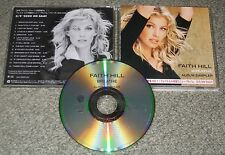 FAITH HILL Japan PROMO ONLY 14 track CD picture sleeve TIM McGRAW - OFFICIAL!