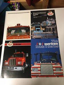 Mack Trucks Brochure Lot of 10