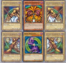 Solomon Muto Deck - Exodia - Blue-Eyes - Dark Magician - Kuriboh 40 Cards Yugioh