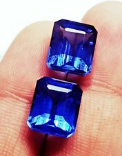 Loose Gemstone Certified Natural Blue Sapphire 8 & 10 Ct RK22