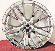 "SET OF 4 Cadillac XLR & XLR-V ""PERFECT FIT"" Chrome Plated 19 x 8.5 Wheels"