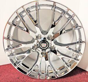 "SET OF 4 Cadillac XLR & XLR-V ""ONLY"" PERFECT FIT Chrome Plated 19 x 8.5 Wheels"