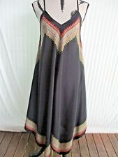 NEW Dusk Sz 10-12 Au BoHo/Hippy Triangle Cut Almost Ankle length dress-Was $100