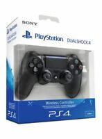 OFFICIAL PS4 BLACK WIRELESS DUALSHOCK 4 V2 2016 CONTROLLER - TRUSTED - BRAND NEW