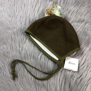 Briar Handmade Toddler Pom Bonnet 2-4 Years Fall Winter