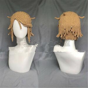 Identity V Cosplay Survivor Victor Postman Wig Handmade Cotton Rope Hair
