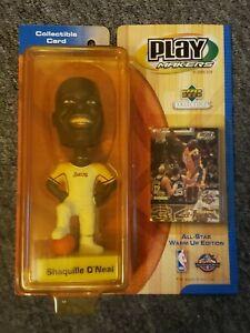 💥2️⃣0️⃣0️⃣1️⃣ Upper Deck Playmakers Shaquille O'Neal Lakers Bobblehead vintage