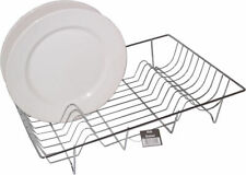 Apollo Chrome Wire Dish Plate Bowl Cutlery Drainer Dryer Tray Rack Stand 8542