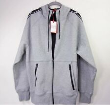 New Hunter for Target Men's Gray Chain Trim Full Zip Hoodie Size L Large