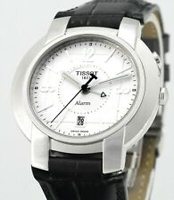 Rare Vintage Tissot 1853 Alarm Date All Stainless Steel Mens Watch L871/971