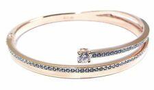 FRESH CRYSTAL BANGLE SMALL BRACELET ROSE GOLD 2016 SWAROVSKI JEWELRY #5257554