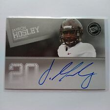 2012 Press Pass Jayron Hosley Virginia Tech New York Giants Auto