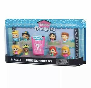 Disney Doorables 13 Piece Princess Figure Set