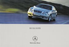 MERCEDES CLK COUPE C208 200 230 320 430 55 AMG Prospekt Brochure 2000 /42