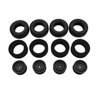 4pcs MN86 Original Soft Wheel Tires with Foam for MN86 Series 4WD RC Car Upgrade