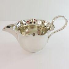 Antique Daniel & Arter Silverplate Milk/Creamer Serving Cream Cup