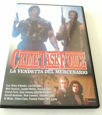 CRIME TASK FORCE LA VENDETTA DEL MERCENARIO FILM DVD SPED GRATIS SU + ACQUISTI