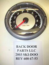 SKI-DOO 2003 REV 600 HO TACHOMETER TACH SUMMIT RENEGADE 800 67-53