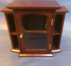 Small Curio Cabinet.Free Standing Or Wall Mounted.Preowned